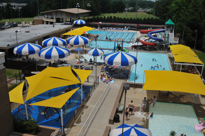 memphis jewish community center outdoor water park - memphis