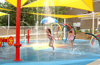 Memphis Jewish Community Center Outdoor Water Park