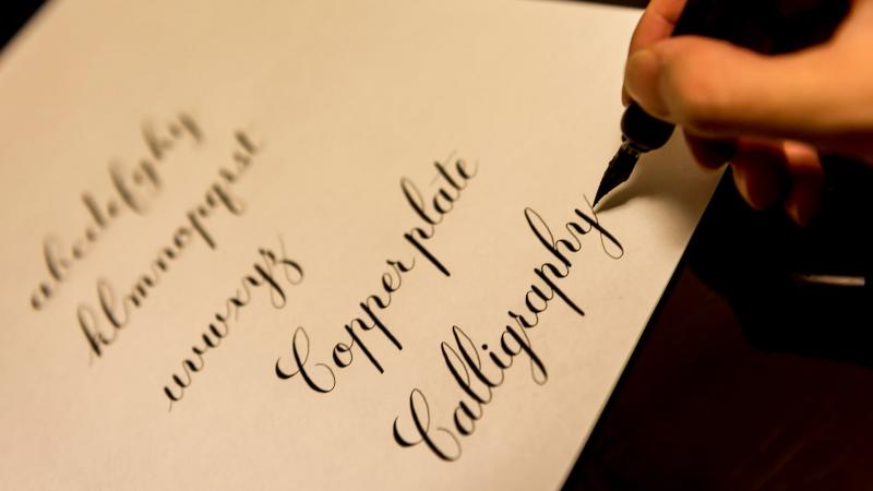 Beginning Pointed Pen Calligraphy Memphis Jewish